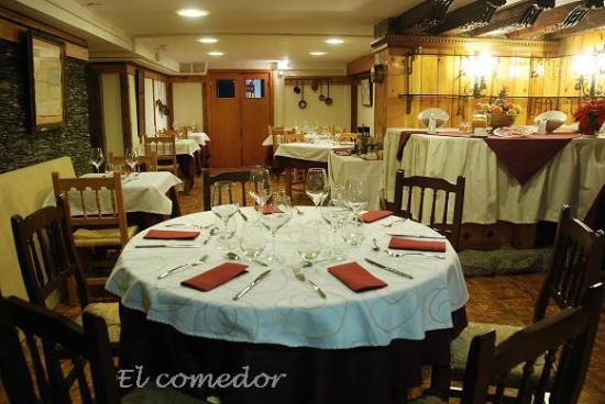 Hotel Vallibierna: COMEDOR