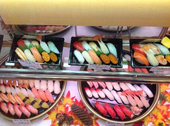 Toriton Kaitensushi Yuhigaokaten: Take Out Sushi