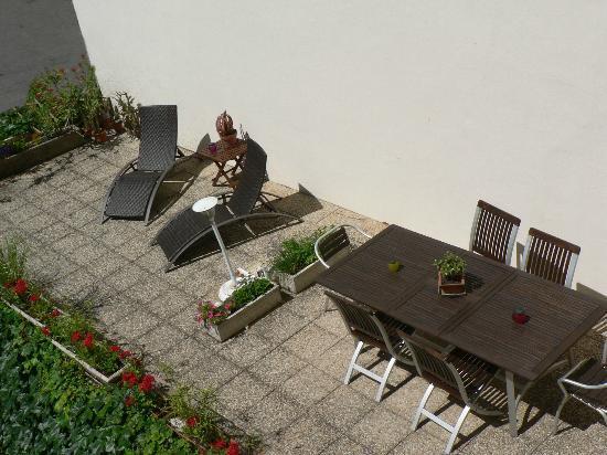 Brit Hotel Marbella: Terrasse de chambre