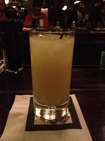 The Post House: pernod at the bar