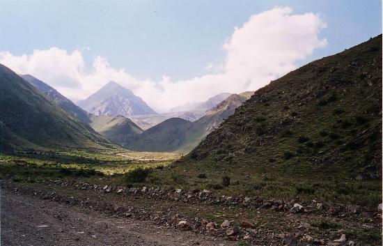 Refugio San Bernardo : Route du refuge
