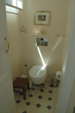 Villa Hagia Sophia: toilet