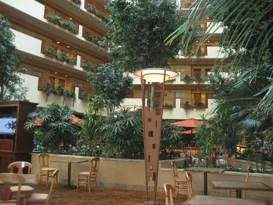‪‪Embassy Suites by Hilton Albuquerque - Hotel & Spa‬: Atrium in hotel‬
