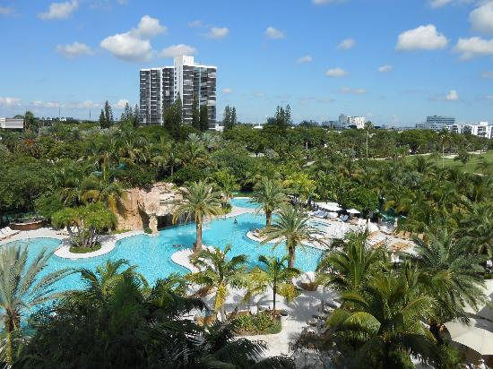Turnberry Isle Miami, Autograph Collection: Stunning view from room 1502, our favourite room!