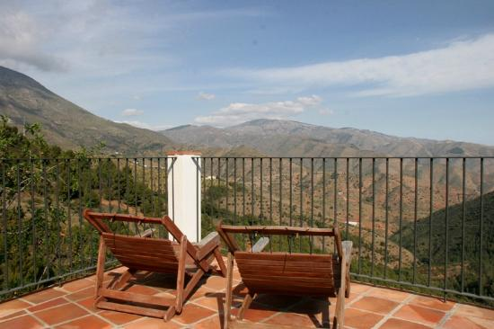 Lujar, Spanien: Views from the pool terrace