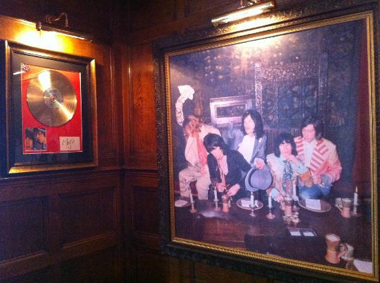 The Gore Hotel: Al parecer, los Rolling estuvieron aquí, hace mucho...