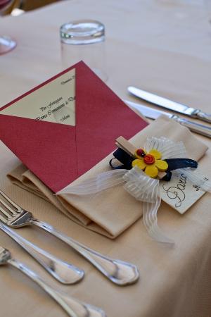 La Melosa Resort&Spa: particolare ristorazione eveni