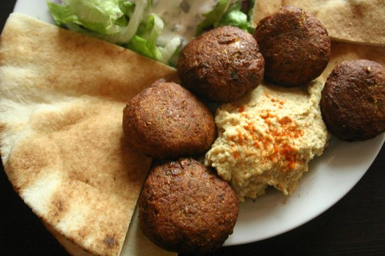 Chilimosa Vegetarian Food: Falafel