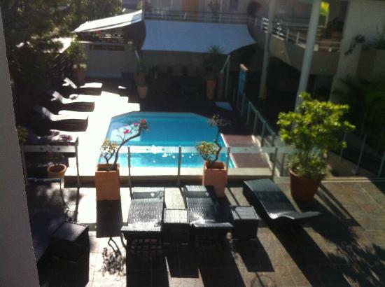 Le Lagon Hotel: Vue sur la piscine