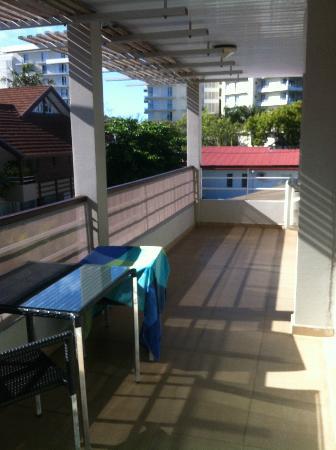Le Lagon Hotel: Terrasse