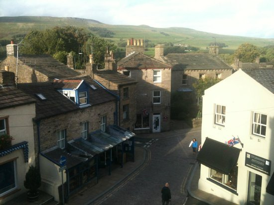 Herriot's Guest Accommodation: View from Room 4 at Herriot's in Hawes