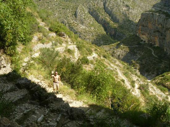 Camping & Bungalows Vall de Laguar: ruta