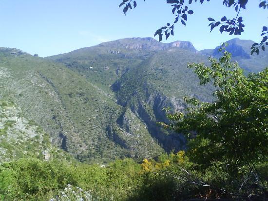 Camping & Bungalows Vall de Laguar: vistas desde el camping