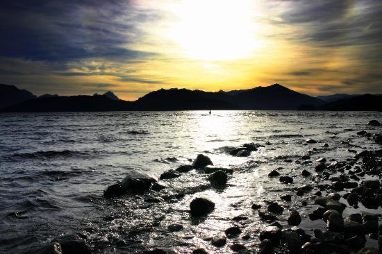 Las Ramblas de Puerto Manzano: nahuel huapi