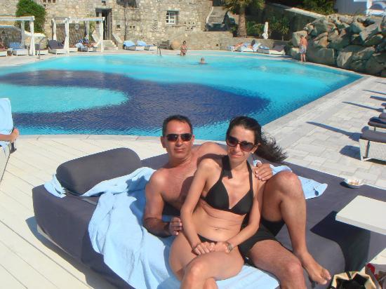 Mykonos Grand Hotel & Resort: At the Pool