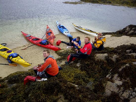 Sea Kayak Plockton: Time for lunch