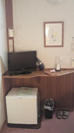 Hotel Viva Nikko: 部屋はせまい