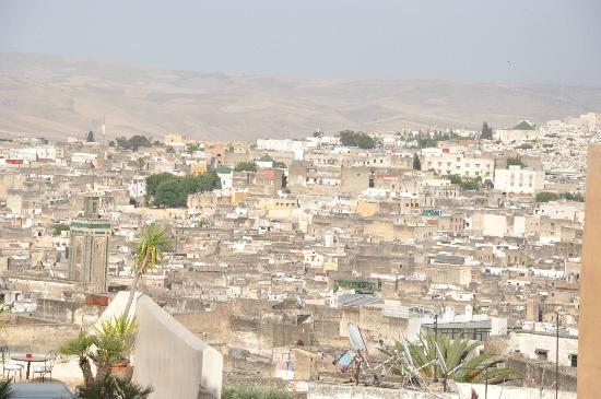 Riad au Vingt Jasmins: Vue sur la médina