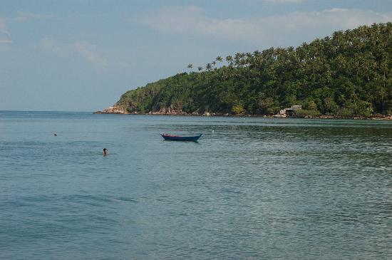 Salad Beach: tranquility
