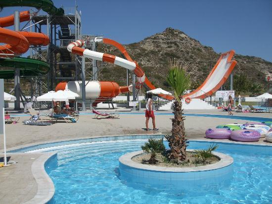 Many activities at Sun Palace water park! - Picture of Sun Palace Hotel, Faliraki - TripAdvisor