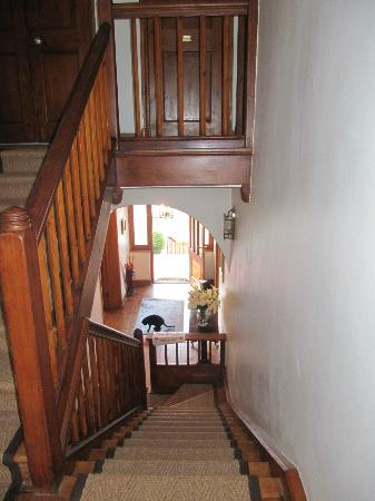 Staircase in Acorn House