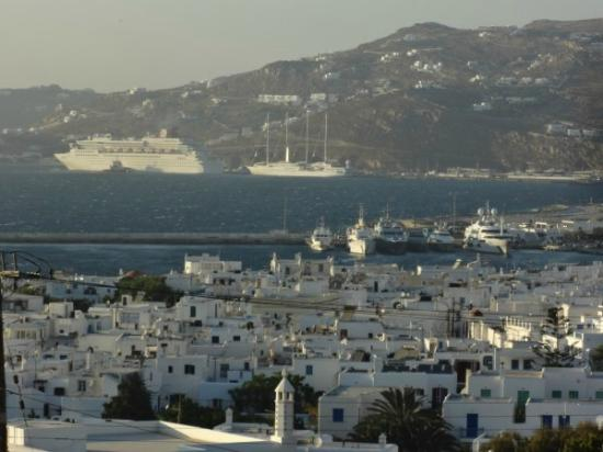 Little Rochari: View from the rooms - Mykonos Bay