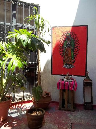 Hostal Tata Inti: Patio