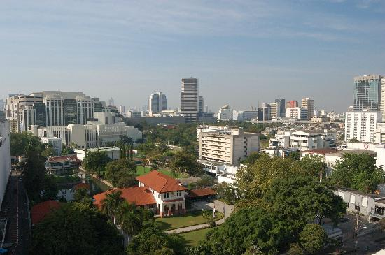 Centre Point Pratunam Hotel : view from non-smoking room