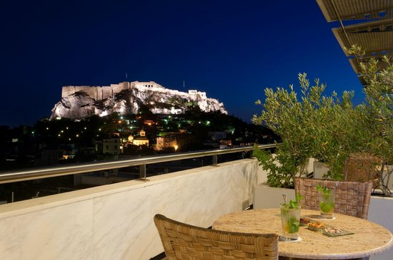Electra Palace Athens: Suite Balcony