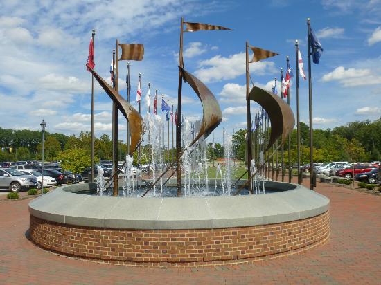 Williamsburg, Virginie : Quadricentennial Plaza