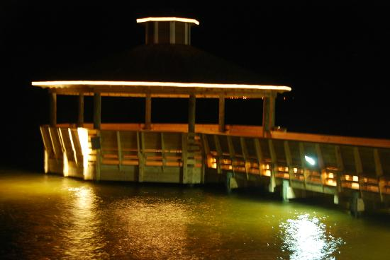 Tale of The Whale : Gazebo at night