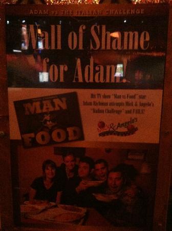 Mick & Angelo's Eatery & Bar: Man V. Food: Niagara Falls