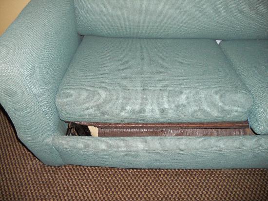 Travelodge Suites East Gate Orange: sofa bed 