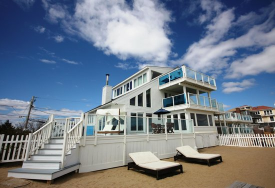 Our oceanfront boutique hotel, Blue - Inn on the Beach