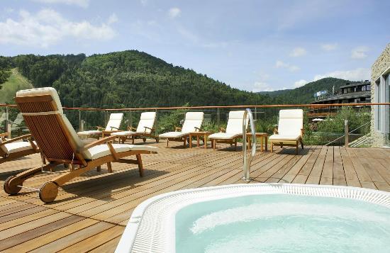 Hotel Spa Dr Irena Eris Krynica Zdroj : Spa Centre terrace