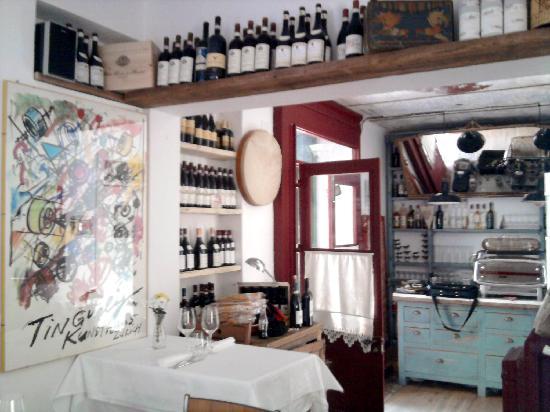 Vercelli, อิตาลี: trattoria paolino.