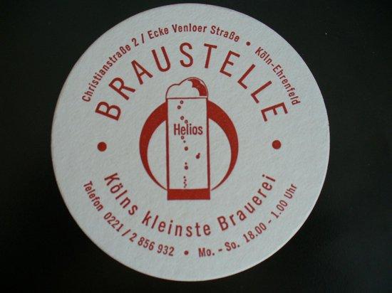 Braustelle: Bierdeckel