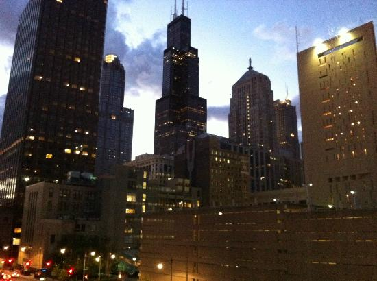 Hotel Blake Chicago : View from room