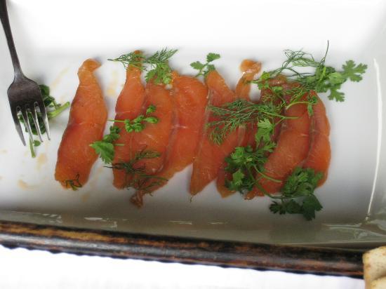 Ansara Hotel: Complimentary breakfast - Gravlax