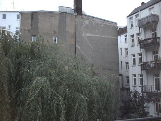 Hotel Stella Maris: Hinterhof