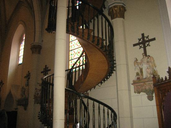 The Floating Staircase Picture Of Loretto Chapel Santa