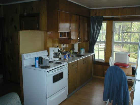 Lost Lake Wilderness Lodge: Kitchen cabin #7