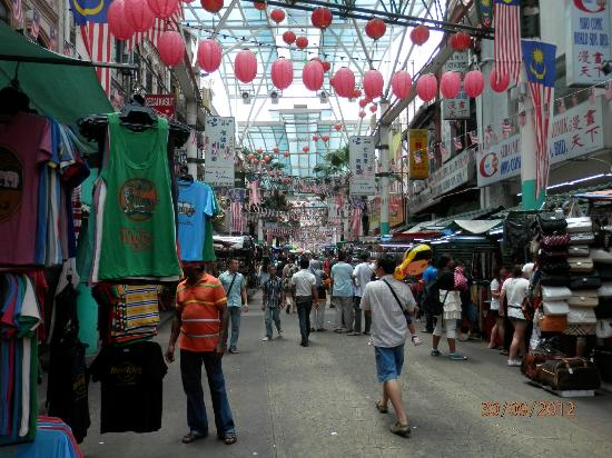 Federal Hotel: view of petaling st china town