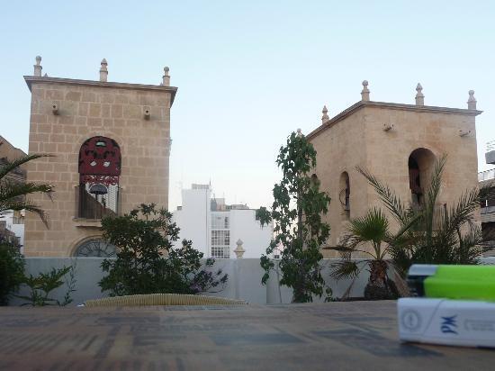 La Milagrosa Bed & Breakfast: vista dal terrazzo