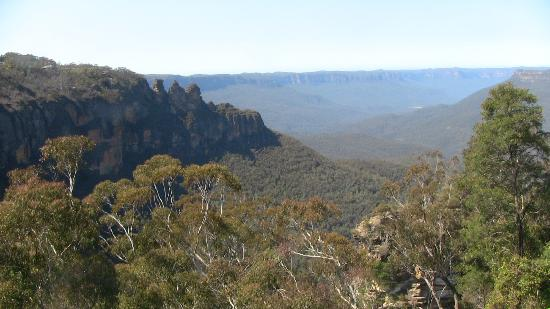 Real Sydney Tours: Great view of the Blue Mountains!