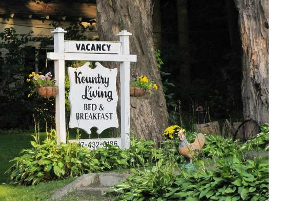 Kountry Living Bed and Breakfast : Great Spot!