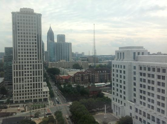 Loews Atlanta Hotel: towards downtown and georgia dome