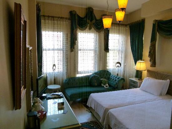 Sokullu Pasa Hotel: chambre 
