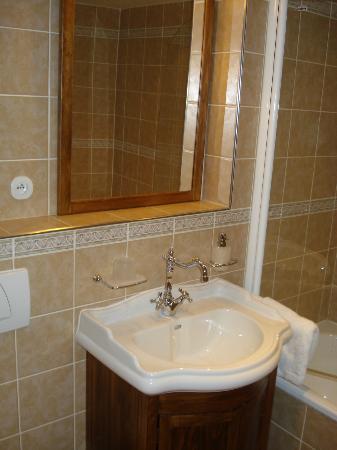 Residence U Cerneho Orla: bathroom