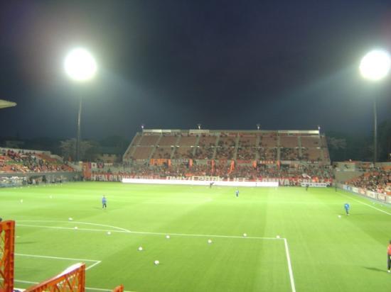 NACK5 Stadium Omiya: ゴール裏